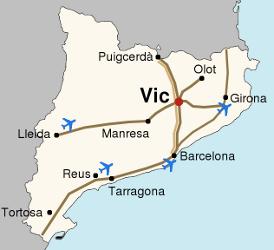 Cómo llegar a Vic |
