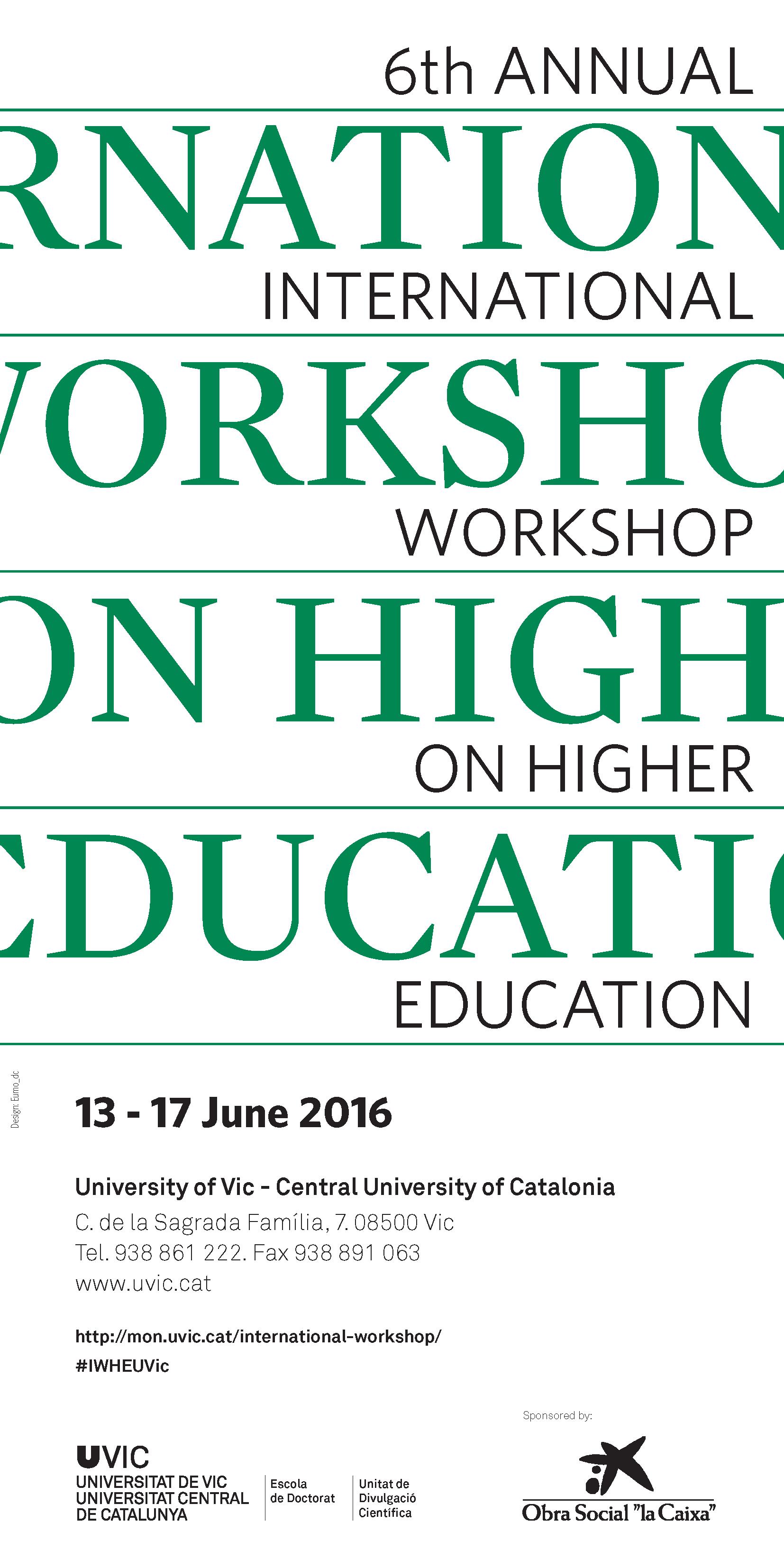 Workshop Cartell 2016