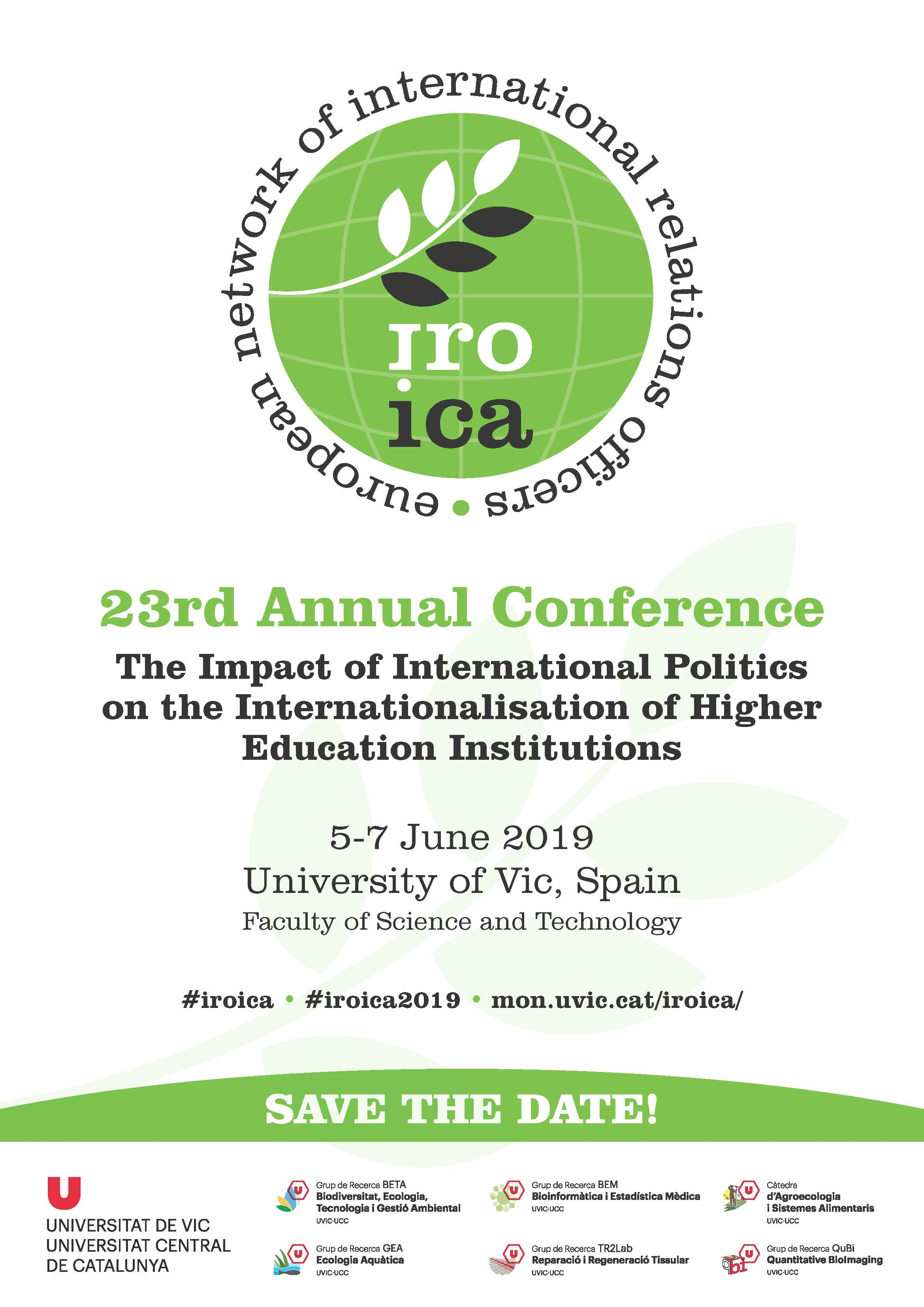 23rd IROICA Conference: